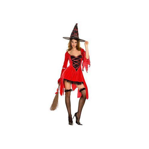 This button opens a dialog that displays additional images for this product with the option to zoom in or out.  sc 1 st  Walmart & Magical Red Witch Costume Red/Black - Walmart.com