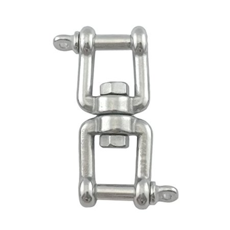"Stainless Steel 316 Anchor Swivel Jaw and Jaw 5/16"" or 8mm Marine Grade"