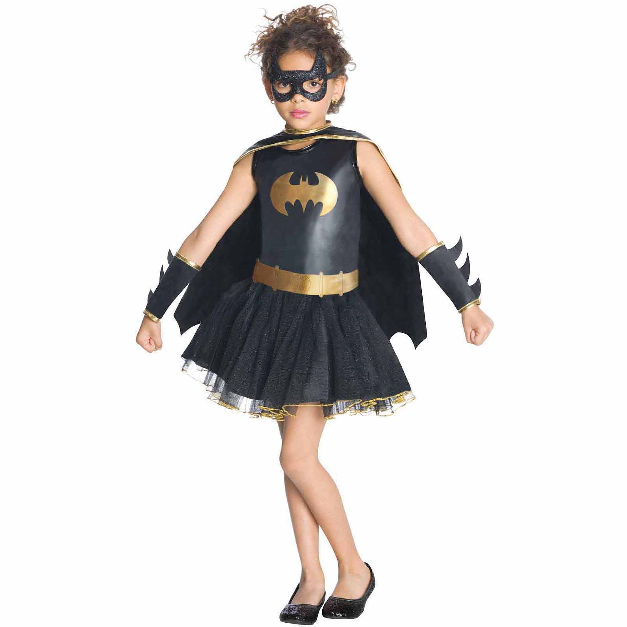 Batgirl Tutu Toddler Halloween Costume