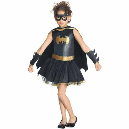 Batgirl Tutu Dress (Batgirl Tutu Toddler Halloween Costume, Size)