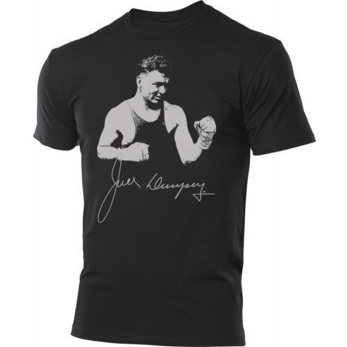 Jack Dempsey Classic Stance TITLE Legacy Tee Black Size: M