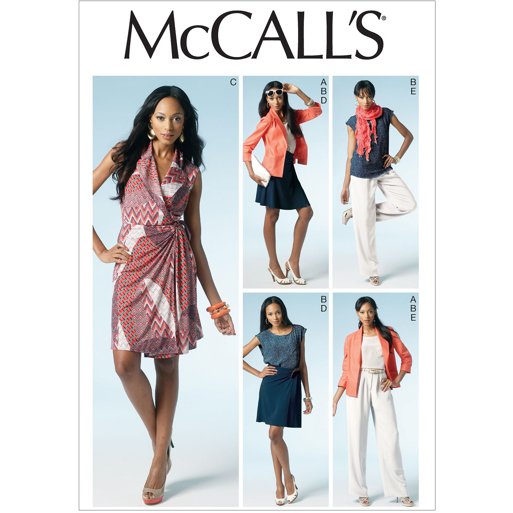 McCall's Pattern Misses' Lined Dress, E5 (14, 16, 18, 20, 22)