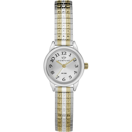 Viewpoint by Timex Women's 22mm Two-Tone Expansion Band Watch