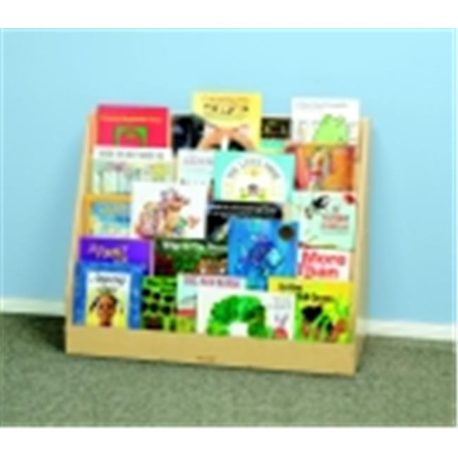 Childcraft 5 Shelf Book Display With Dry-Erase Back Panel