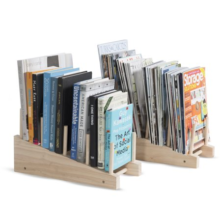 Free-Standing Wooden Cookware Cutting Board 4-Slot Kitchen Storage Countertop Organizer Rack Set of 2 Natural ?