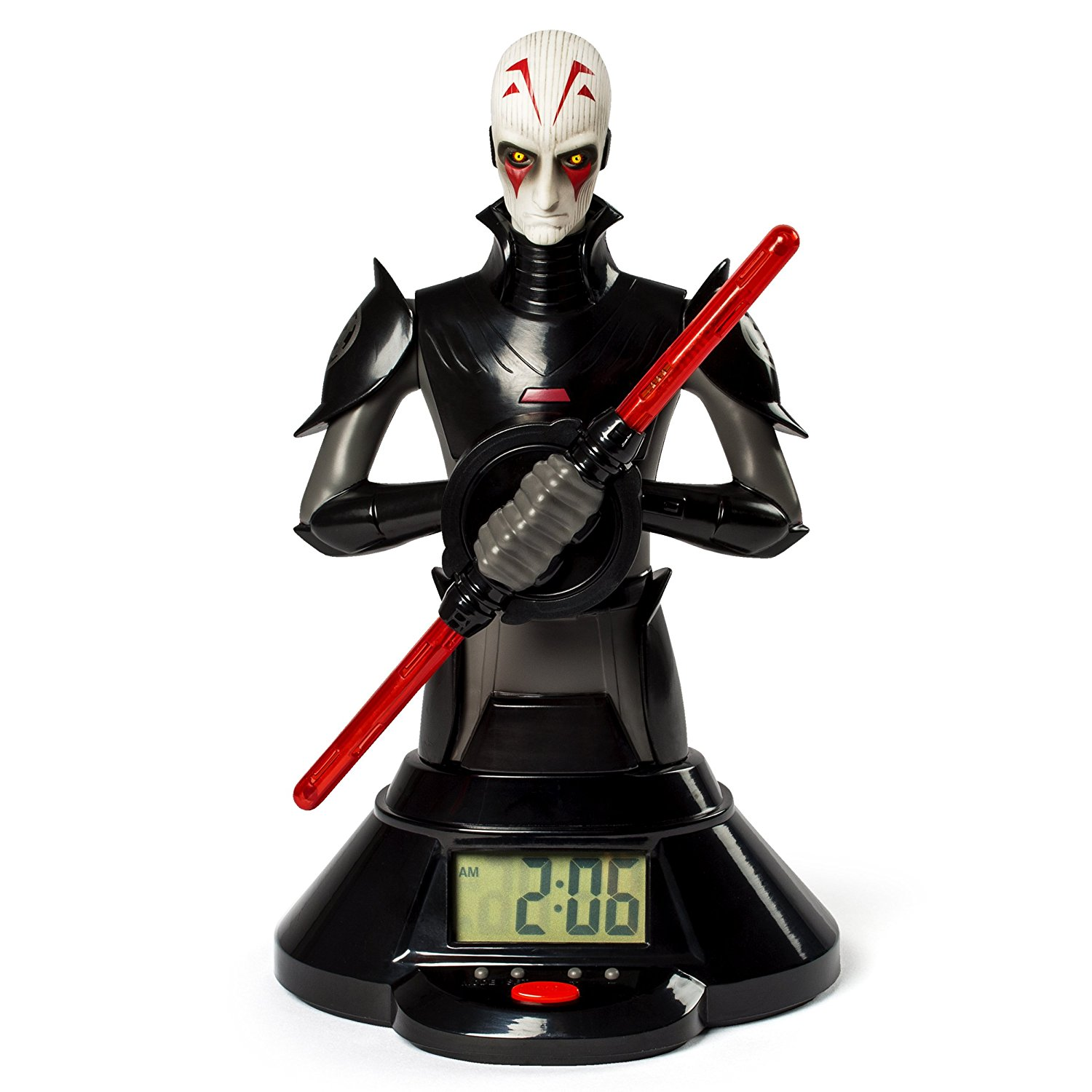 Star Wars 6025101 The Inquisitor Lightsaber Clock