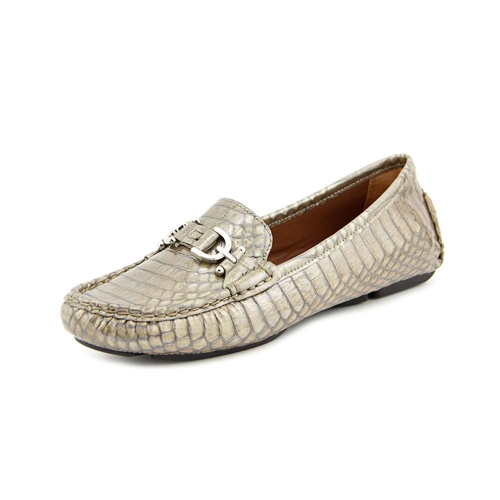 Donald J Pliner Viky Moc Toe Patent Leather Loafer by Donald J Pliner
