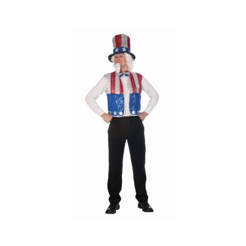 SEQUIN UNCLE SAM KIT - Uncle Same Costume