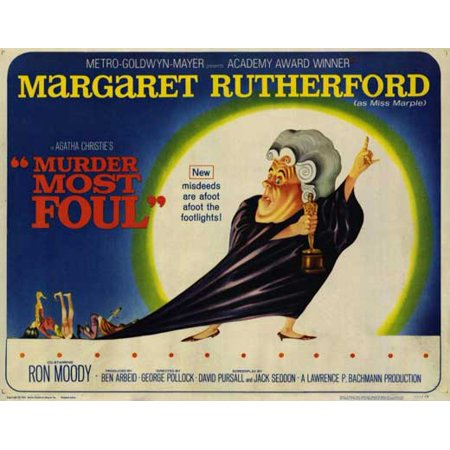 Murder Most Foul POSTER Movie Mini Promo