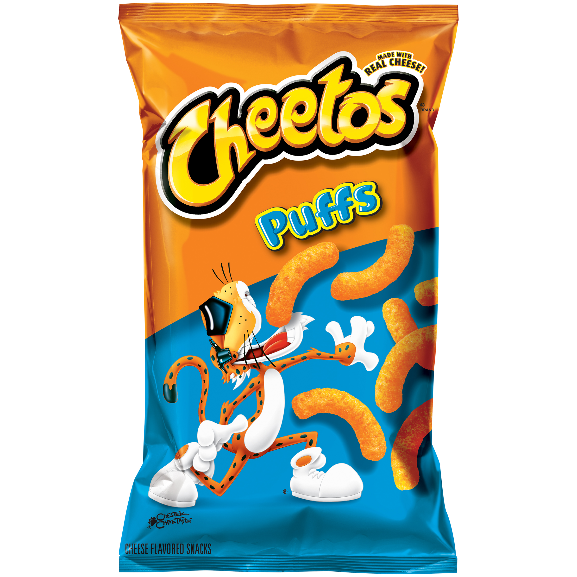 Cheetos® Puffs Cheese Flavored Snacks 8 oz. Bag