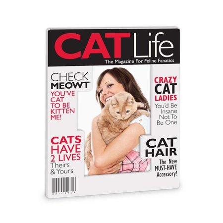 Really Great News 4051442 Cat Life Magazine Frame