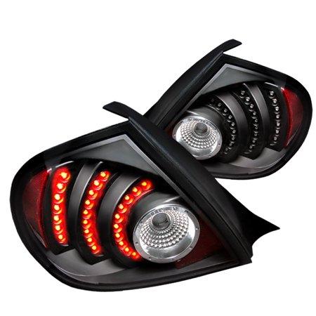 Spec-D Tuning For 2003 2004 2005 Dodge Neon Srt4 R/T Led Tail Lights Black 2003 2004 2005 (Left+Right)