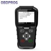 OBDPROG MT601 OBD2 Scanner Key Programmer Programming Odometer Mileage Correction Adjustment EEPROM Program Pin Check Engine Code Reader IMMO Immobilizer OBD II Car Diagnostic Scan Tool