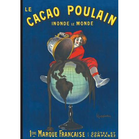 Carnet Lign� Affiche Cacao Poulain - Affiches Halloween