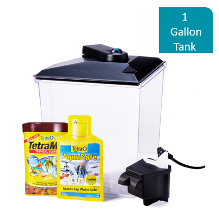 Aqua Culture 1-Gallon Aquarium Starter Kit with