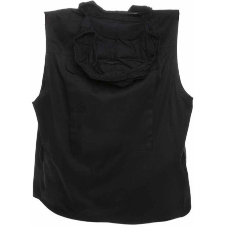 Ranger Vest with 9 Pockets nd Hideaway Hood, Humvee, 100 Percent Cotton, Available in Multiple Colors and Sizes
