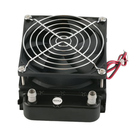 (90mm Water Cooling CPU Cooler Row Heat Exchanger Radiator With Fan for PC)