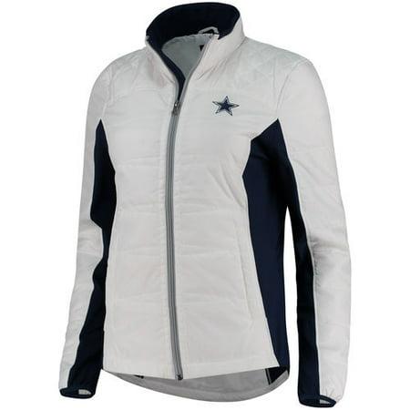 check out c54a3 b9c17 Women's White Dallas Cowboys Grand Slam Reversible Full-Zip ...