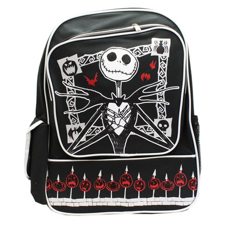 The Nighmare Before Christmas Jack and Spiked Pumpkins Full Size Backpack (16in)
