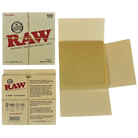 Unrefined Parchment Paper Squares 5