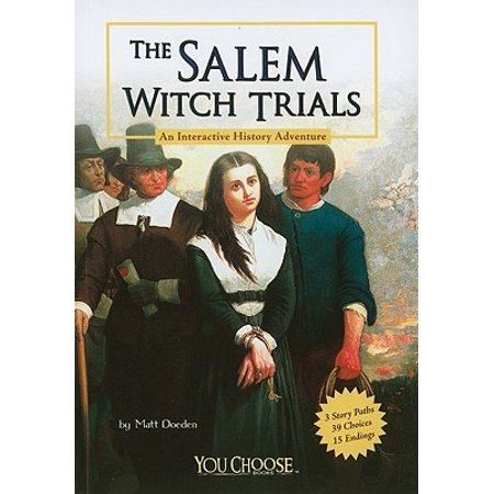 You Choose Books (Paperback): The Salem Witch Trials - Witches History