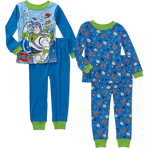 Baby Boys' Character Cotton Pajamas, 2 Sets