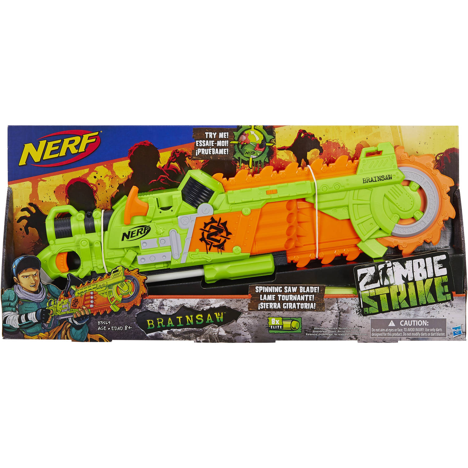 Image is loading Nerf-Foam-Doomlands-Swift-knight-throw-N-force-