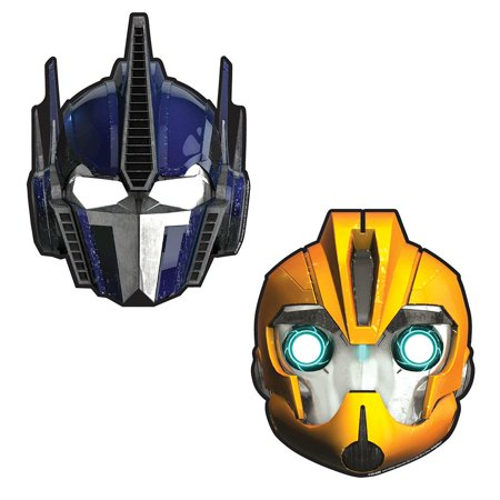 Transformers Paper Masks (8 Pack) - Party - Transformers Mask