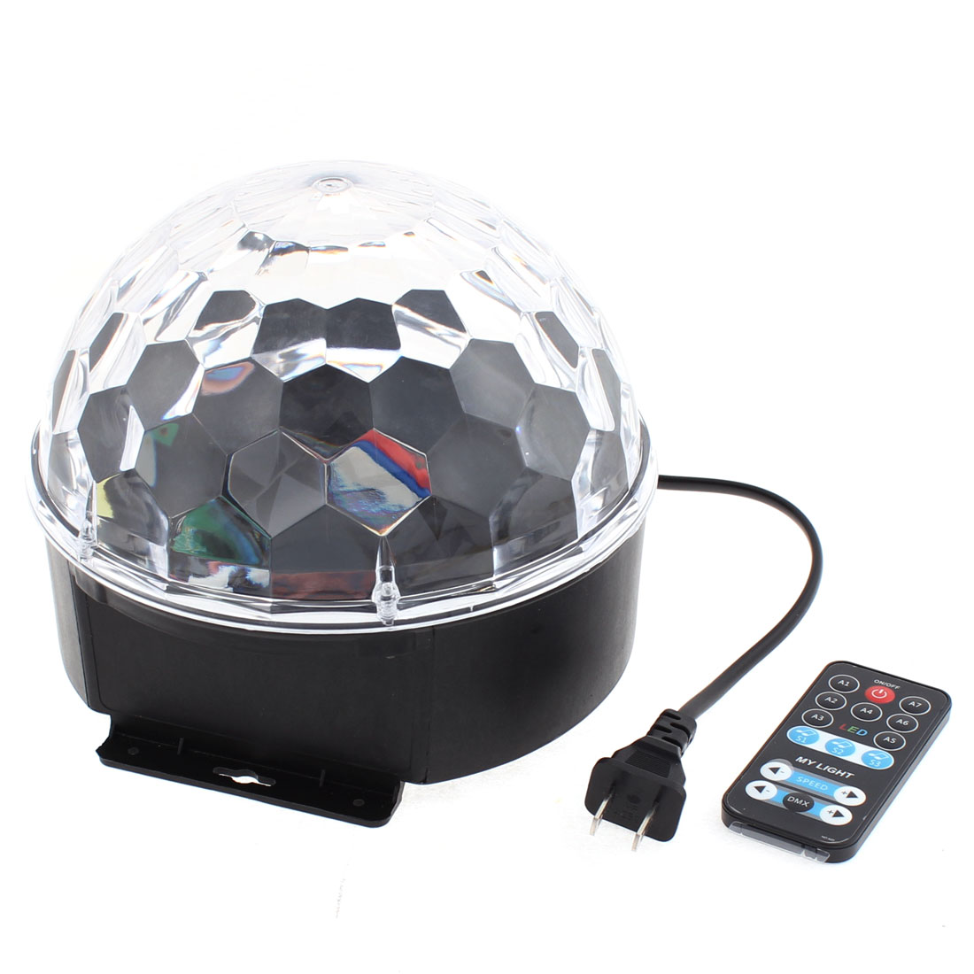 AC90-240V US Plug Projector Disco Stage Lighting Colorful Magic Ball by Unique-Bargains