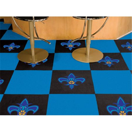 Fanmats 9352 New Orleans Hornets Carpet Tiles 18 In  X 18 In  Tiles
