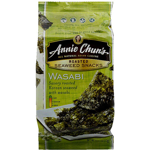d Seaweed Snacks, 0.35 oz, (Pack of 12)
