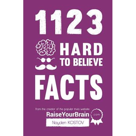 1123 Hard to Believe Facts : From the Creator of the Popular Trivia Website - Halloween Trivia Hard