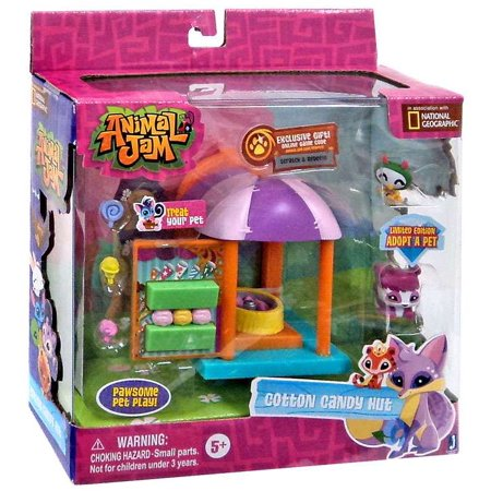 Animal Jam Cotton Candy Hut Playset