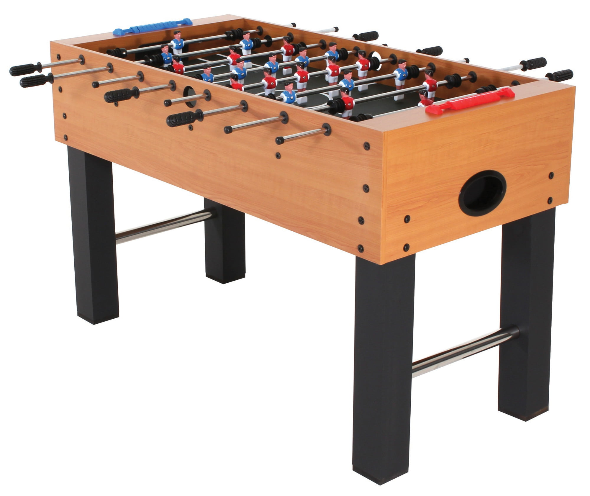 American Legend Charger 52� Foosball Table with Abacus-Style Scoring and Internal Ball Return System by American Legend