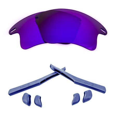 Lenses Kit Compatible with OAKLEY FAST JACKET XL Polarized Purple & (Fast Jacket Xl Lenses)