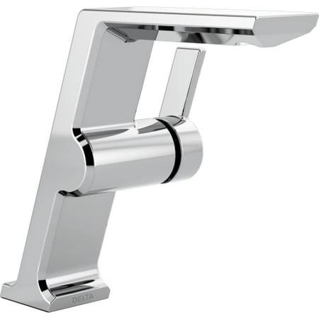 Delta Pivotal Single Handle Mid-Height Vessel Bathroom Faucet,