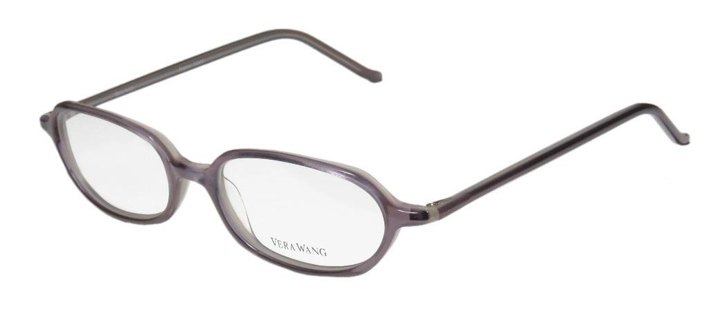16cdfdca08 New Vera Wang V20 Womens Ladies Designer Full-Rim Black Optical Classic  Made In Japan Frame Demo Lenses 49-16-136 Eyeglasses Spectacles
