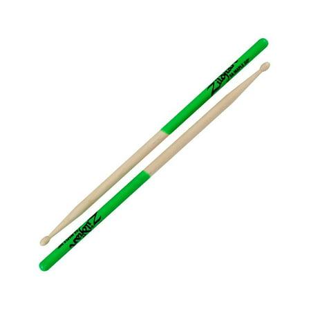 Zildjian 5A Maple Green Drumsticks, Lightweight alternative to Hickory wood By Avedis Zildjian Company Ship from US
