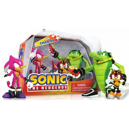 Sonic The Hedgehog Team Chaotix 5  Action Figure 3 Pack