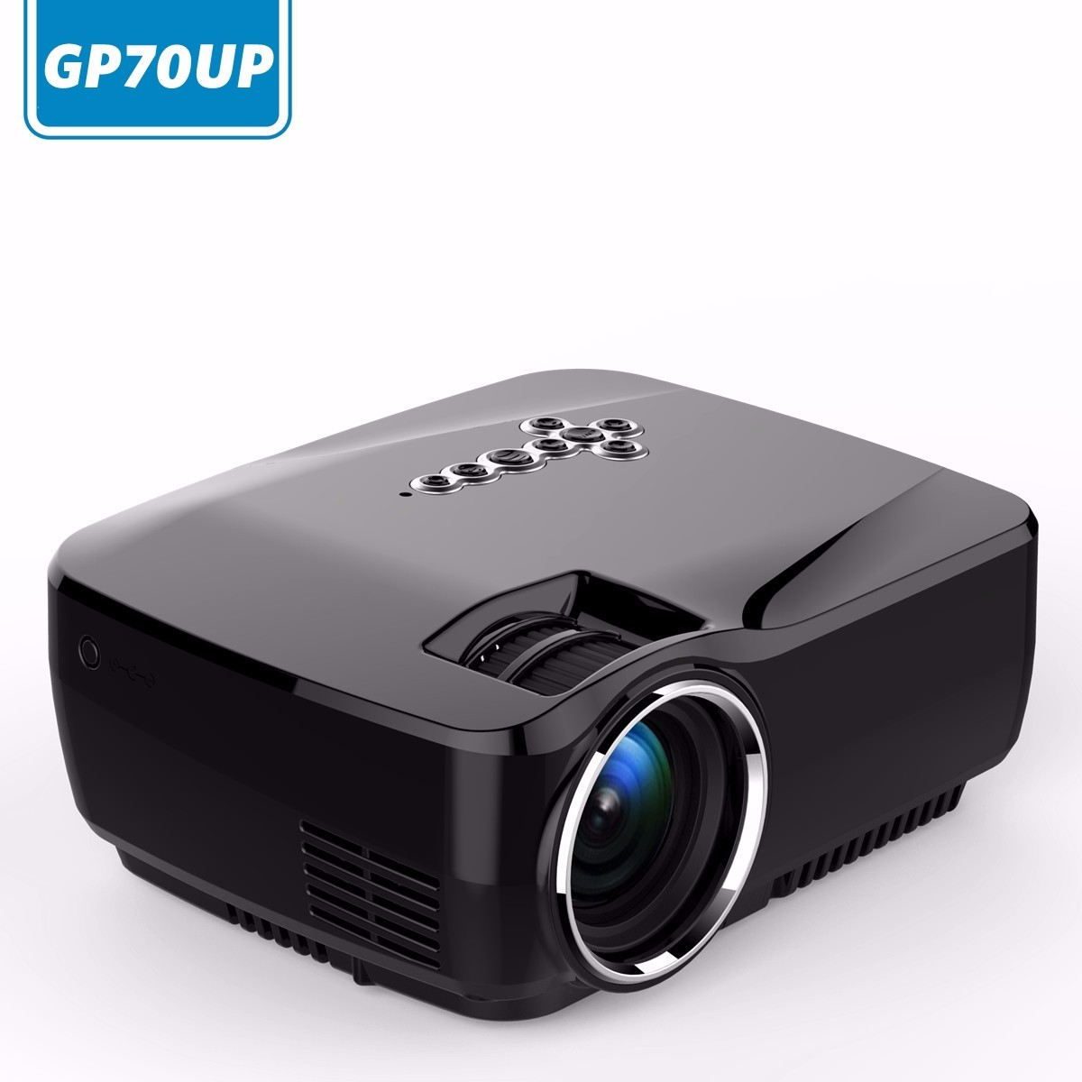 ELEGIANT 1200LM 1080P HD Projector Mini LED Home Theater ...