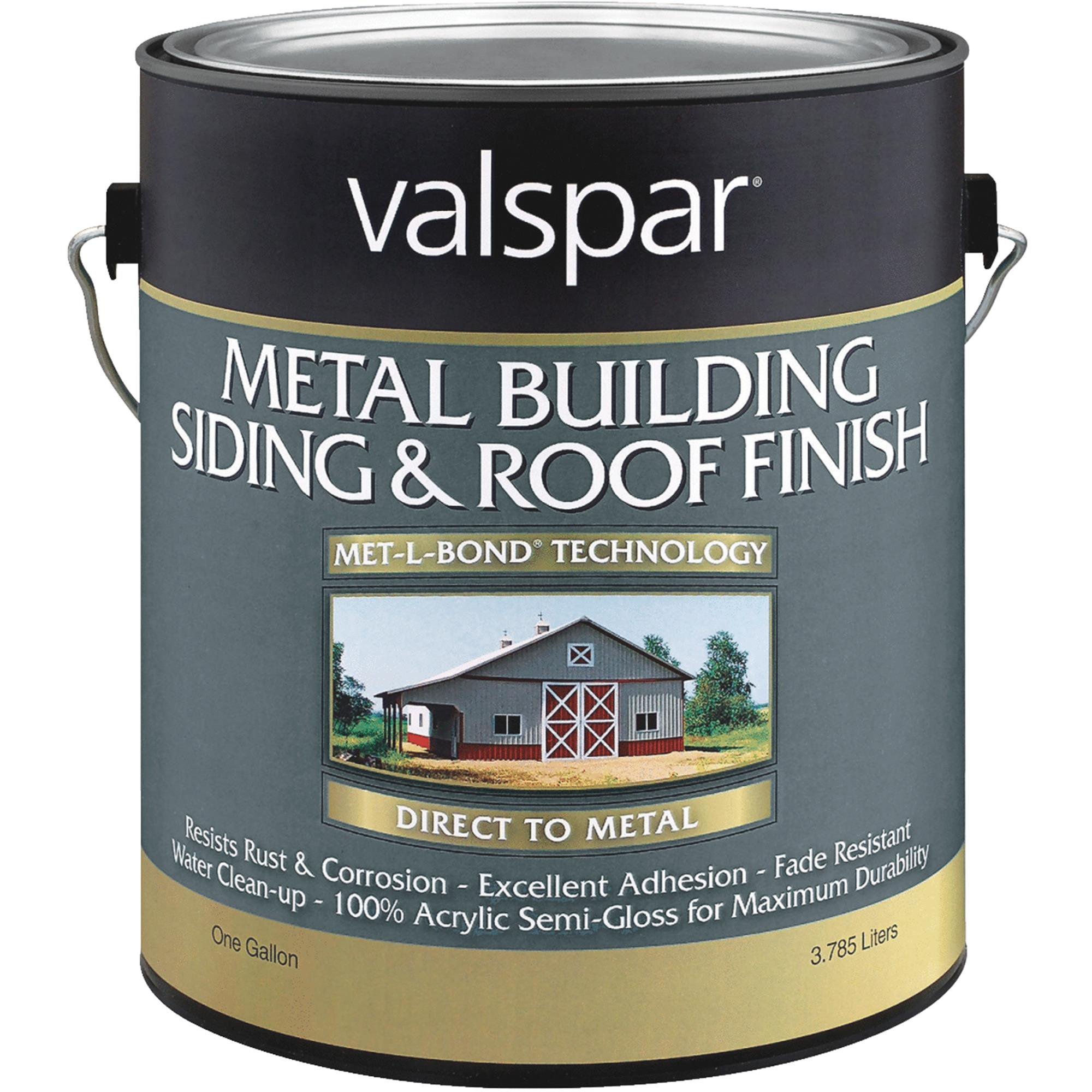 Valspar Metal Siding And Roof Paint