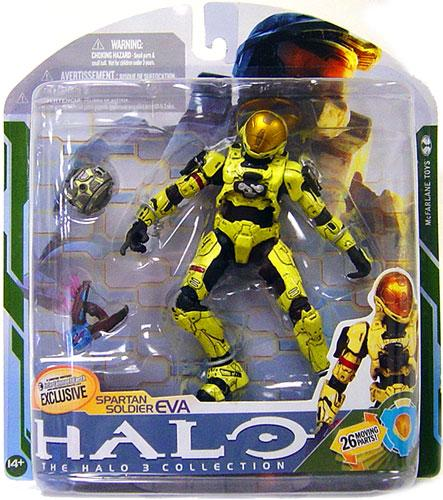 McFarlane Halo Series 5 Spartan Soldier EVA Action Figure [Pale Yellow]](Super Soldier From Halo)