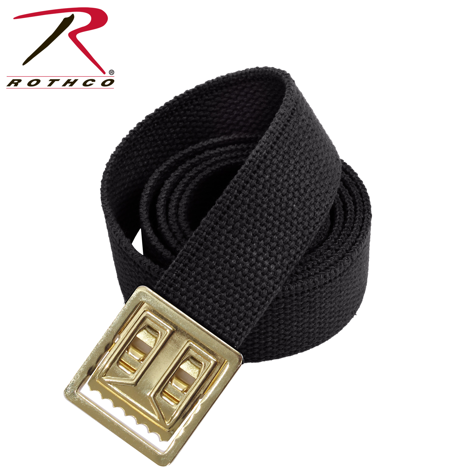 Rothco Military Web Belts w  Open Face Buckle Black 61ac879d441