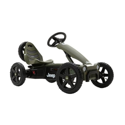 Berg USA Jeep Adventure Pedal Go Kart Riding Toy