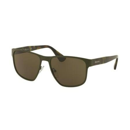 PRADA Sunglasses PR 55SS UF44J1 Green 55MM