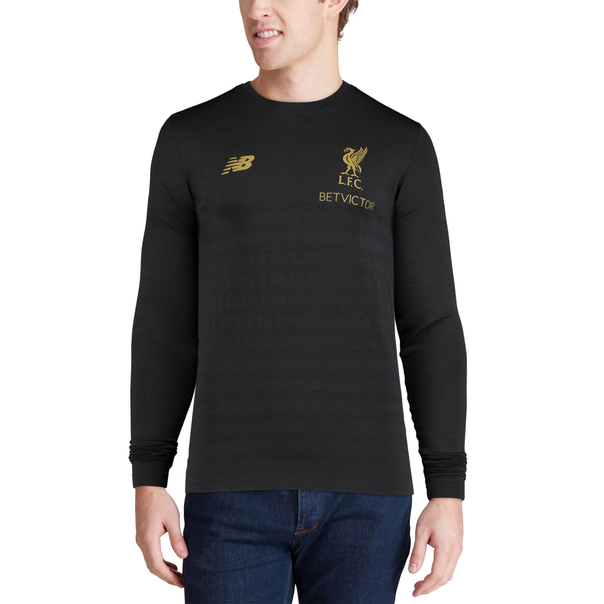 19bdfcac58698 New Balance - Liverpool New Balance Manager's Collection Seamless NB Dry  Long Sleeve T-Shirt - Gray - Walmart.com