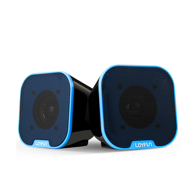 2.0 Channel USB Powered Supply Computer Speakers Mini Stereo Speaker With 3.5mm Cable For Laptop Computer Smartphones