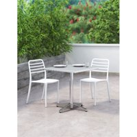 Donzo Dining Chair White (Set of 2)
