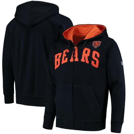 Chicago Bears Hoodie - Chicago Bears G-III Sports by Carl Banks Huddle Full-Zip Hoodie - Navy