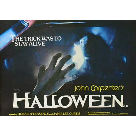 Halloween POSTER (30x40) (1978) - Halloween Quotes 1978